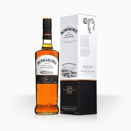 Whisky Bowmore 12YO 40% 0,7l