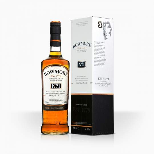 Whisky Bowmore No.1 40% 0,7l