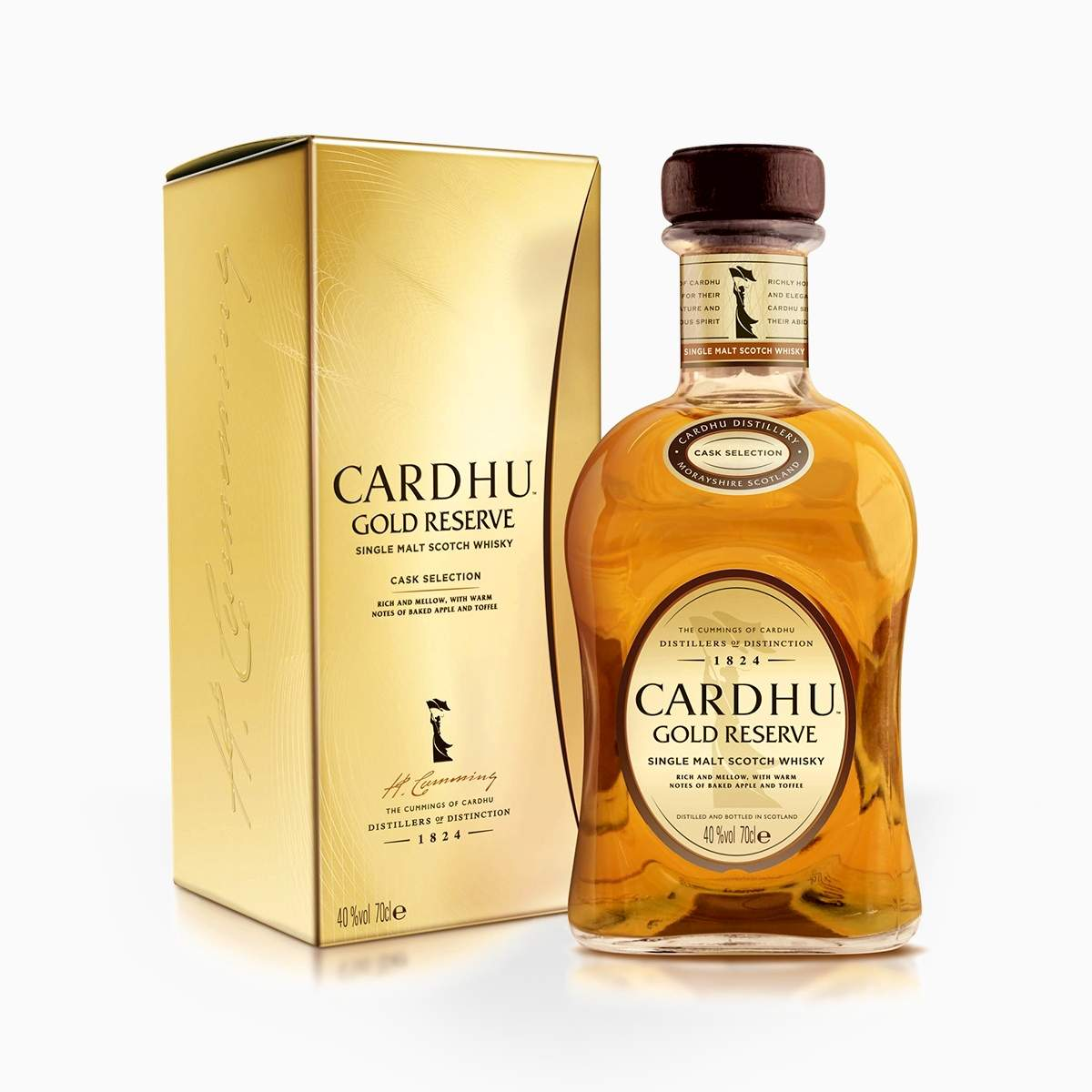 Whisky Cardhu Gold Reserve Cask Selection 40% 0,7l
