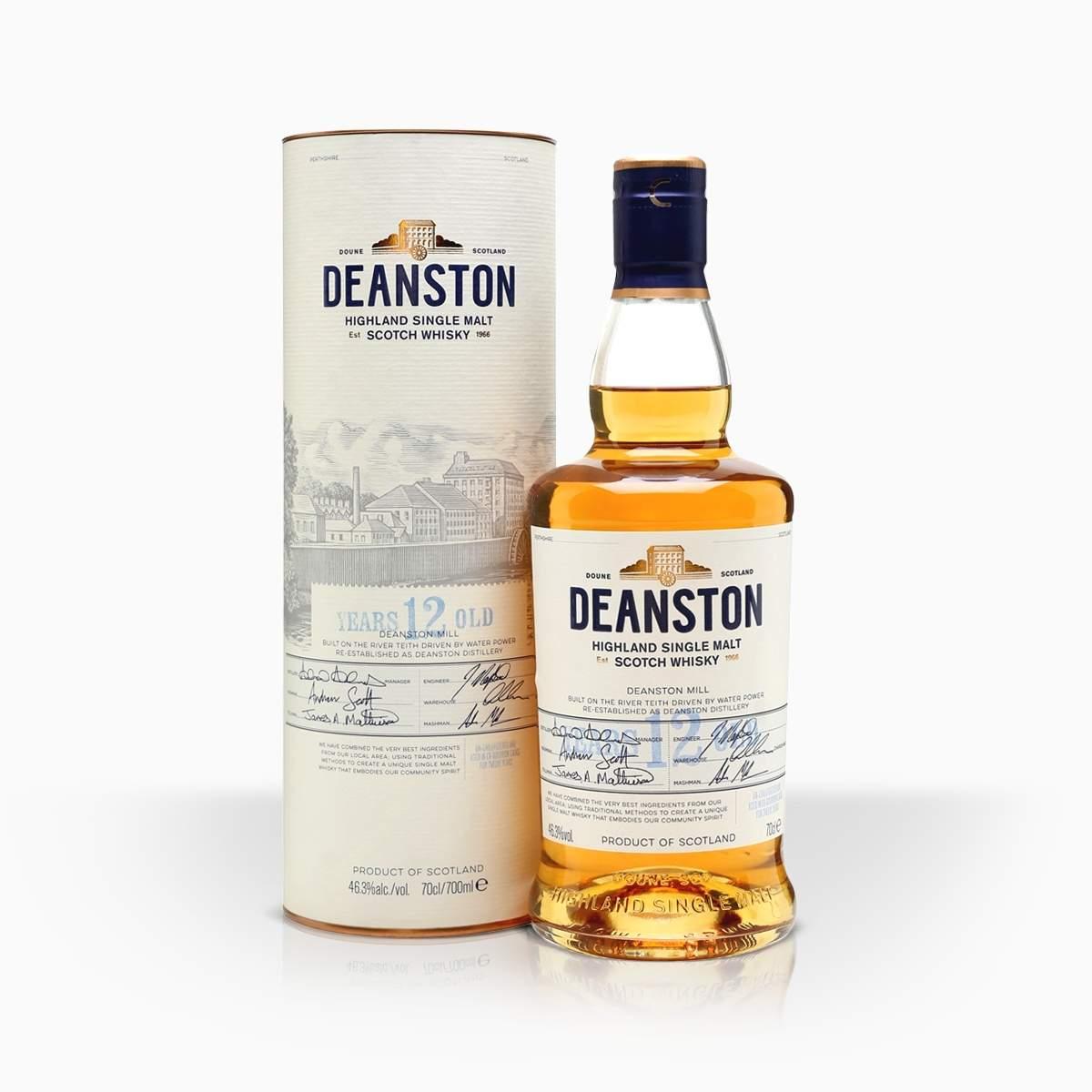 Whisky Deanston 12YO 46,3% 0,7l