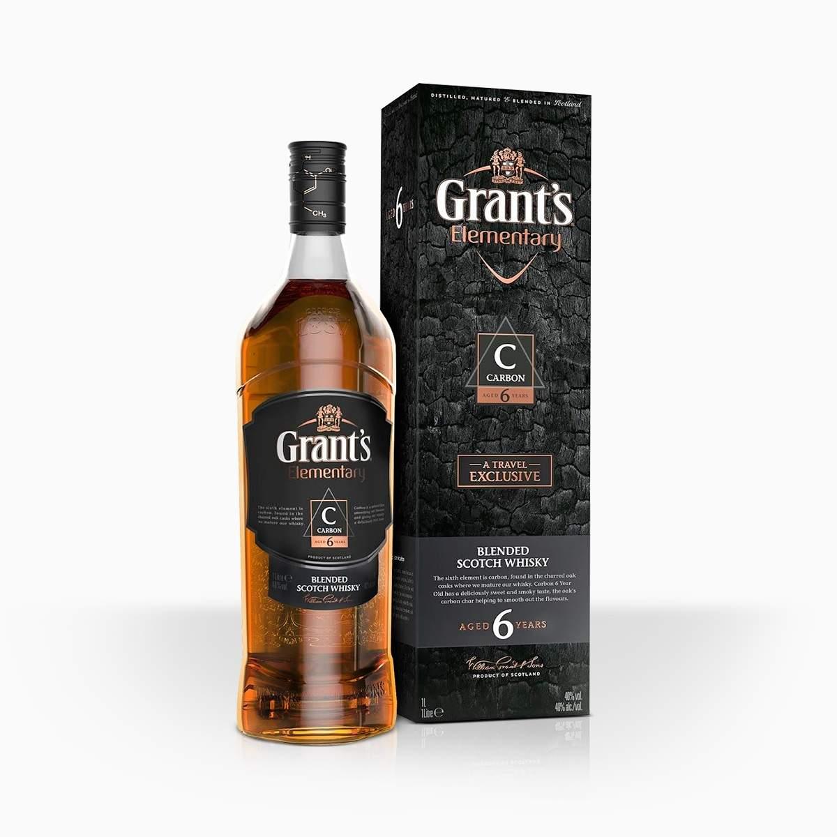 Whisky Grant's Elementary Carbon 6YO 40% 1l