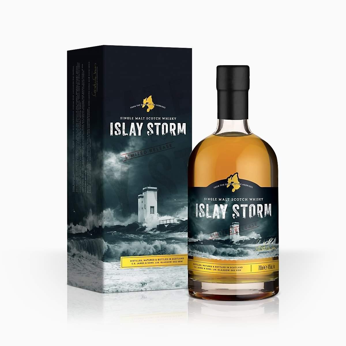 Whisky Islay Storm GB 40% 0,7l