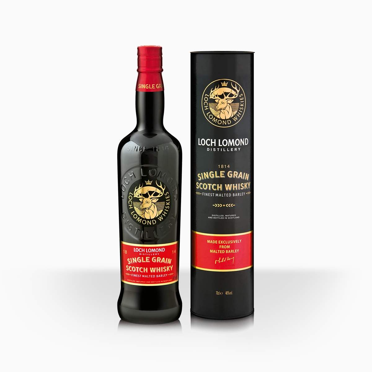 Whisky Loch Lomond Single Grain 46% 0,7l