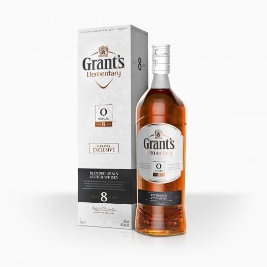 Whisky Grant's Elementary Oxygen 8YO 40% 1l