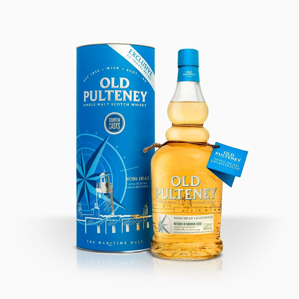 Whisky Old Pulteney Noss Head 46% 1l