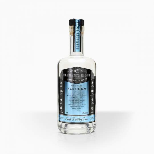 Rum Elements 8 Platinum 40% 0,7l