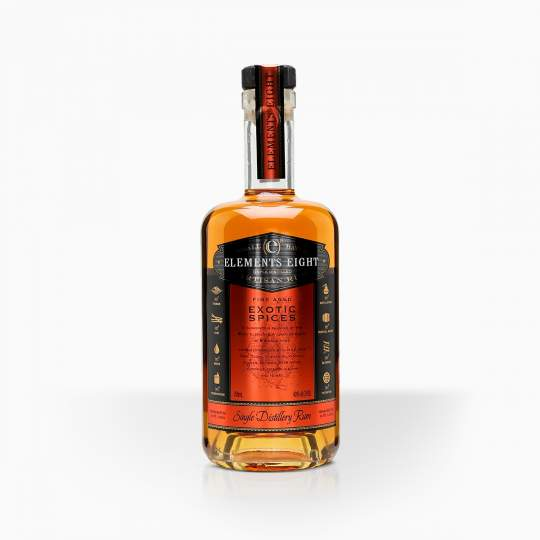 Rum Elements 8 Spiced 40% 0,7l