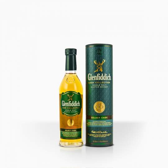 Whisky Glenfiddich Select Cask 40% 0,2l