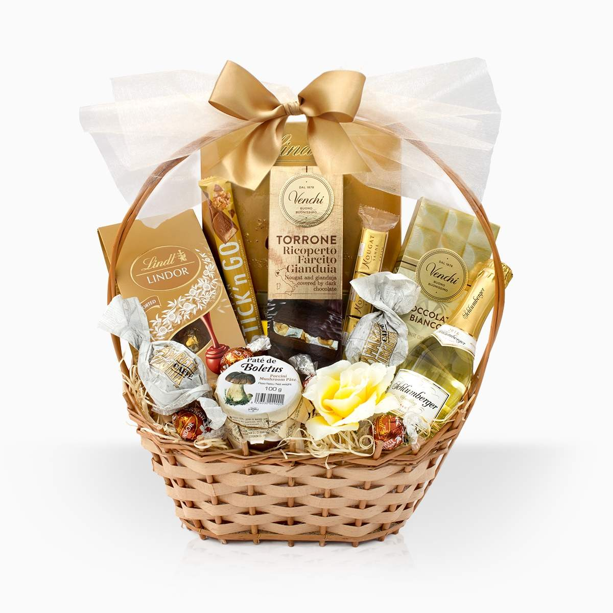 "Gift Basket ""Small Golden Treasure"""