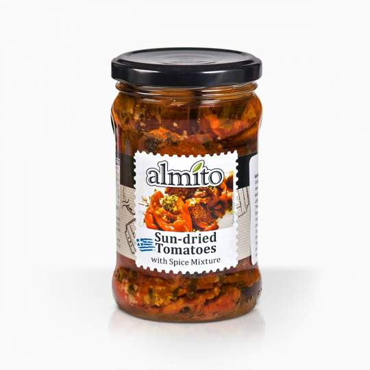Almito sušené paradajky so zmesou korenia 280g