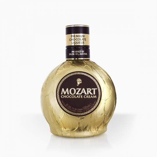 Liquor Mozart Cream Gold 17% 0,5l