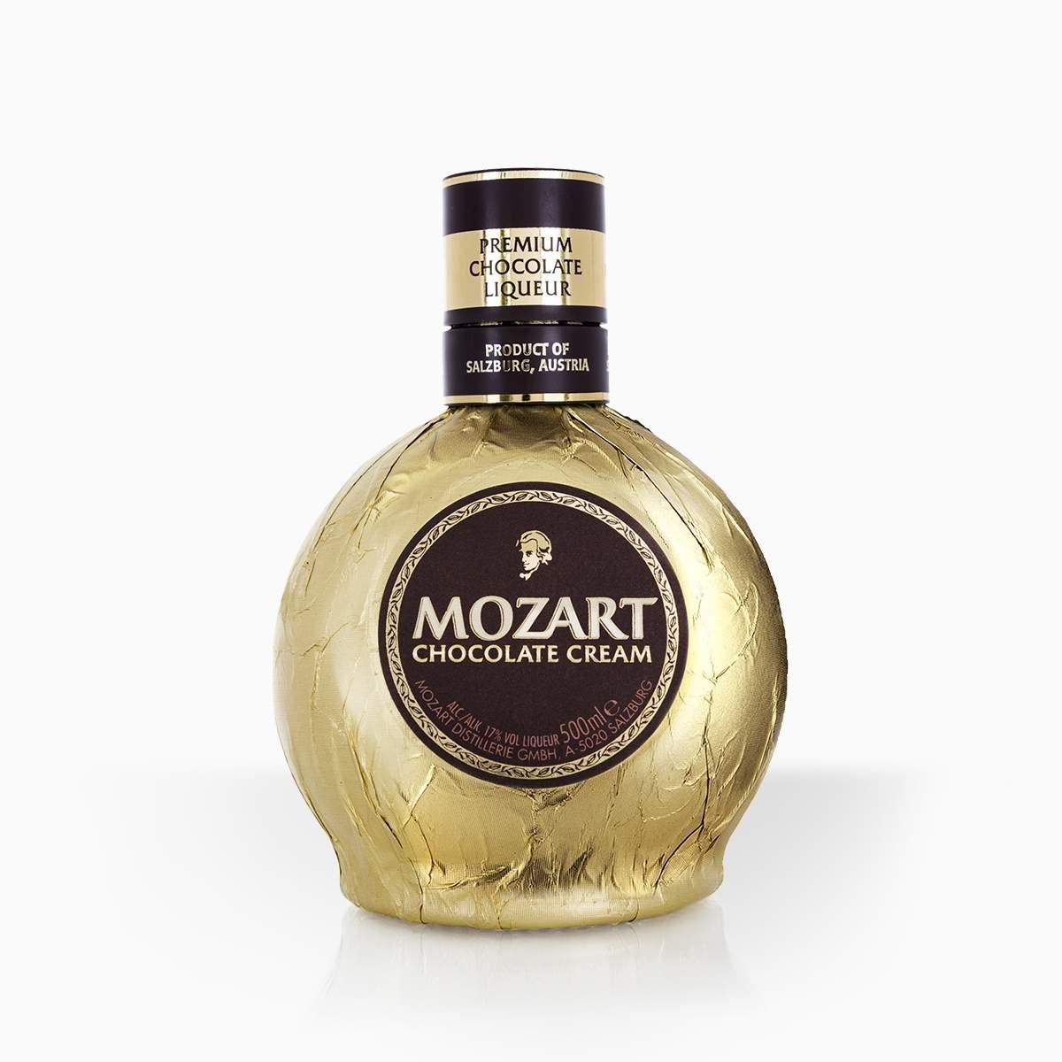 Likér Mozart Cream Gold 17% 0,5l