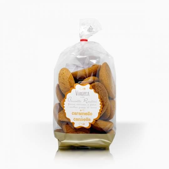Virginia karamelovo-škoricové sušienky z celozrnnej múky 300g