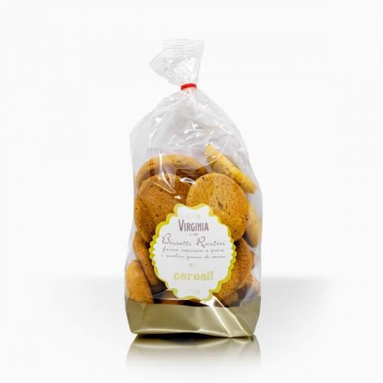 Virginia sušienky z celozrnnej múky s cereáliami 300g