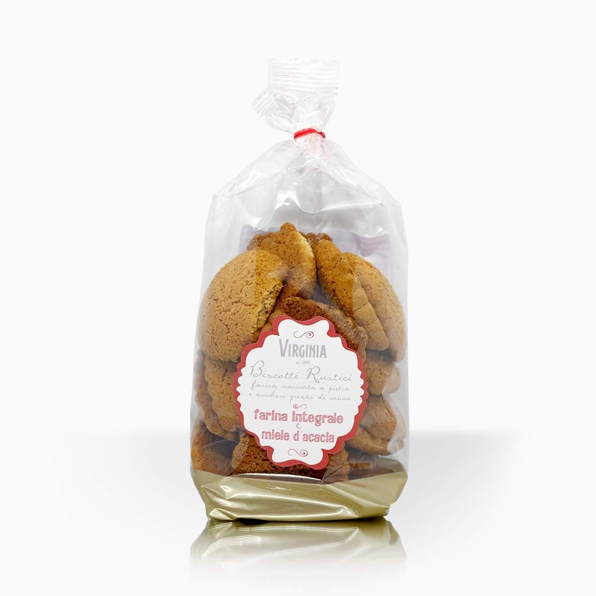 Virginia sušienky z celozrnnej múky a agátovým medom 300g