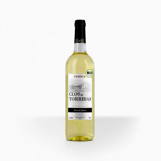 Víno Clos de Torribas Blanc BIO Penedes 11% 0,75l