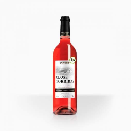 Víno Clos de Torribas Rose BIO Penedes 11,5% 0,75l