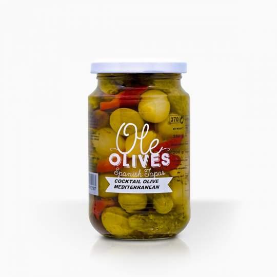 Ole stredomorská zmes zeleniny 350g