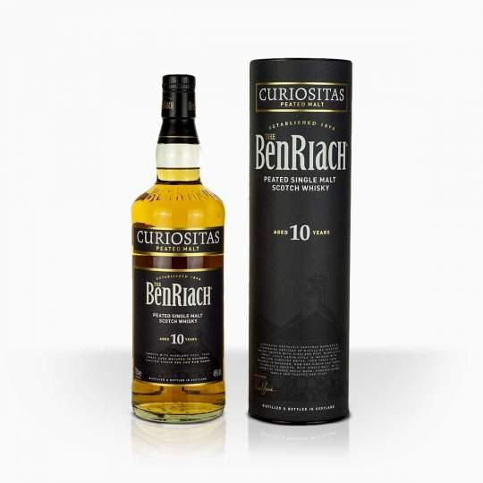 Whisky BenRiach 10YO Curiositas 46% 0,7l