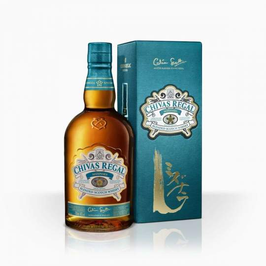 Whisky Chivas Regal Mizunara 40% 0,7l