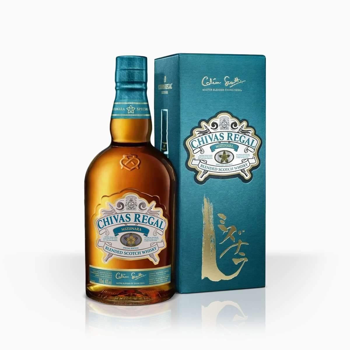 Whisky Chivas Regal Mizunara 40% 0,7l