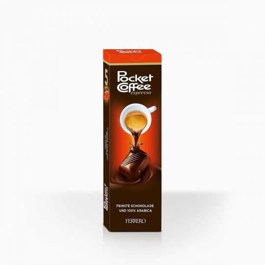 Ferrero Pocker Coffee čokoládové bonbóny s tekutou kávou 62,5 g