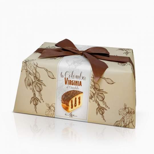 Virginia veľkonočná colomba s čokoládovým krémom a čokoládovými kúskami v čokoláde 850g