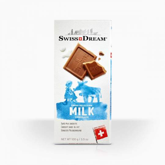 SwissDream Milk Bar 100g