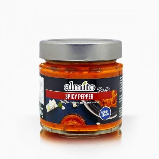 Almito nátierka z štipľavých papričiek a syru feta 190g
