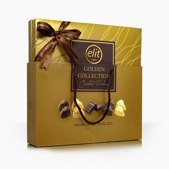 Elit Golden Collection výber čokoládových praliniek 267g