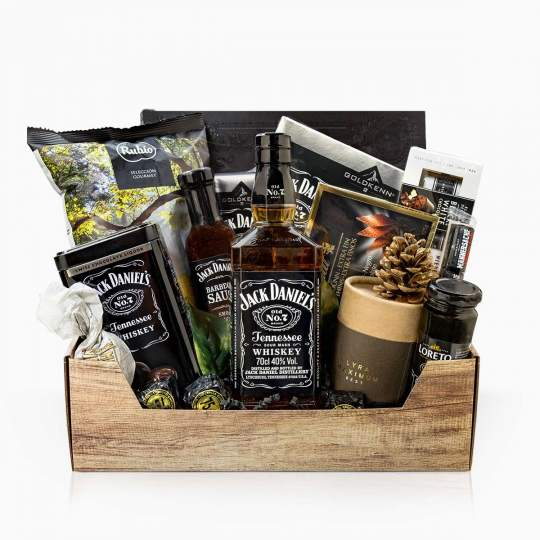 "Gift Basket ""Black Jack"""