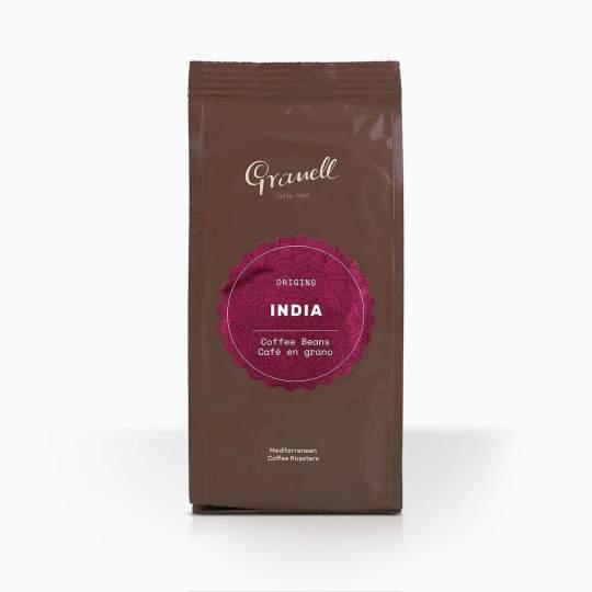 Káva zrnková Granell India 100% 250g