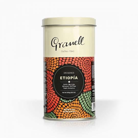 Káva mletá Granell Pure Origin Ethiopia 200g