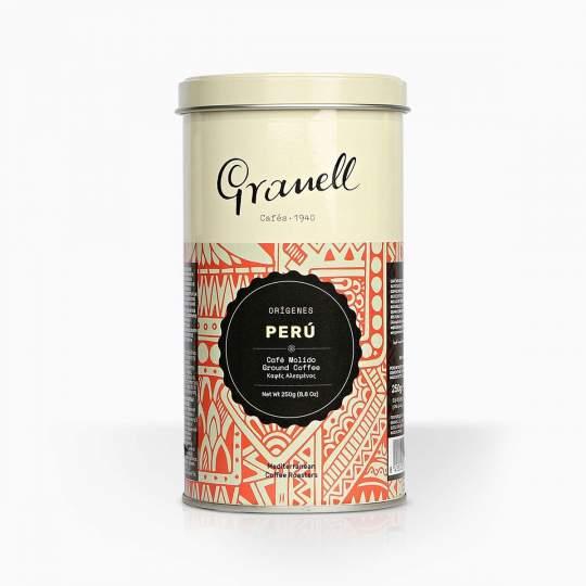 Káva mletá Granell Pure Origin Peru 200g
