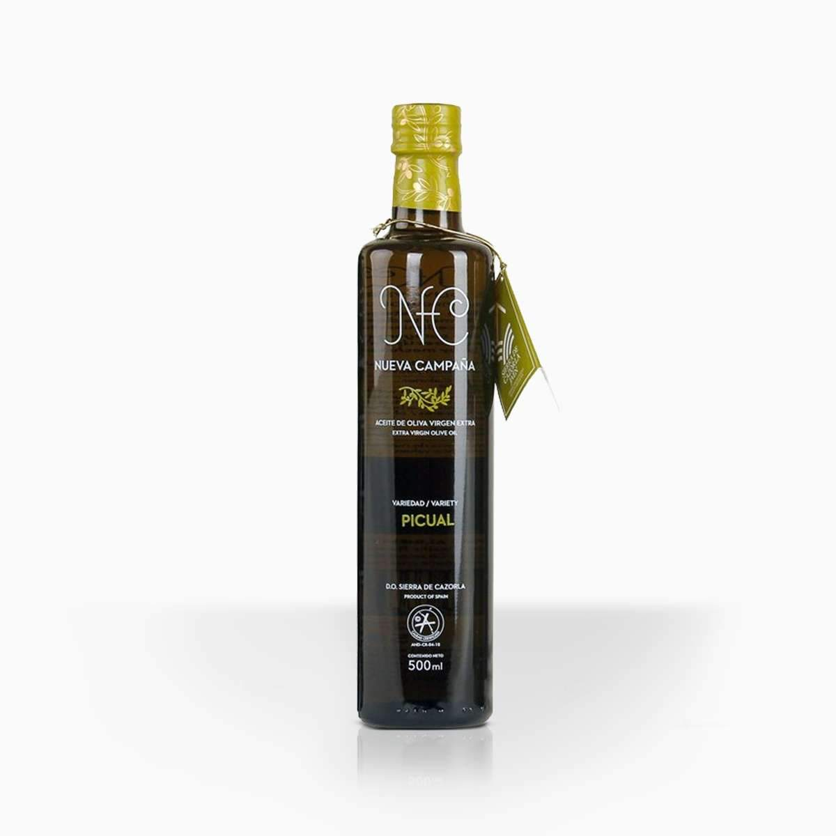 Nueva Campana Picual olivový olej Sierra de Cazorla 500ml