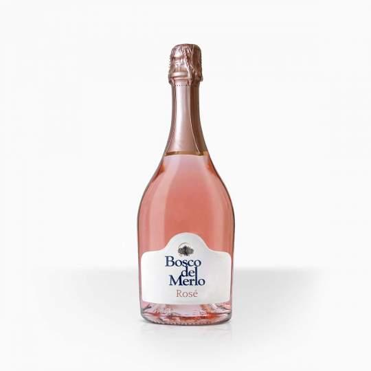 Šumivé víno Bosco Del Merlo Rose Brut 11,5% 0,75l