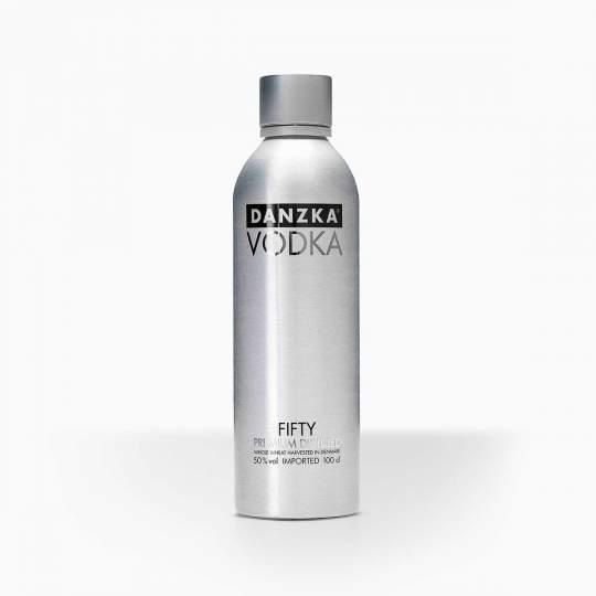 Vodka Danzka Black Fifty 50% 1l