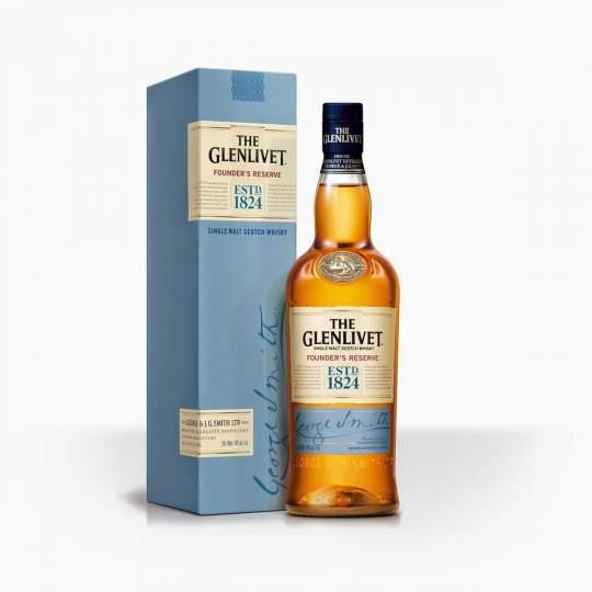 Whisky Glenlivet Founders Reserve 12YO 40% 0,7l
