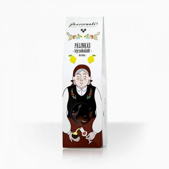 Passionate mliečna čokoláda plnená dulovicou 80g