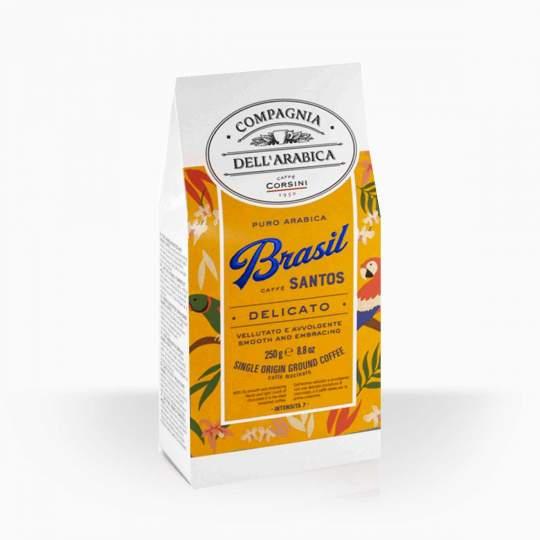 Compagnia Dell Arabica Corsini Brasil mletá káva 250g