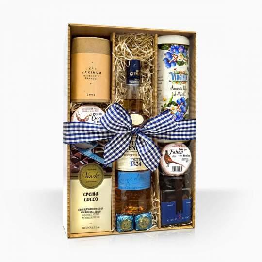 """Darčeková krabica """"Škótsky námorník"""""""