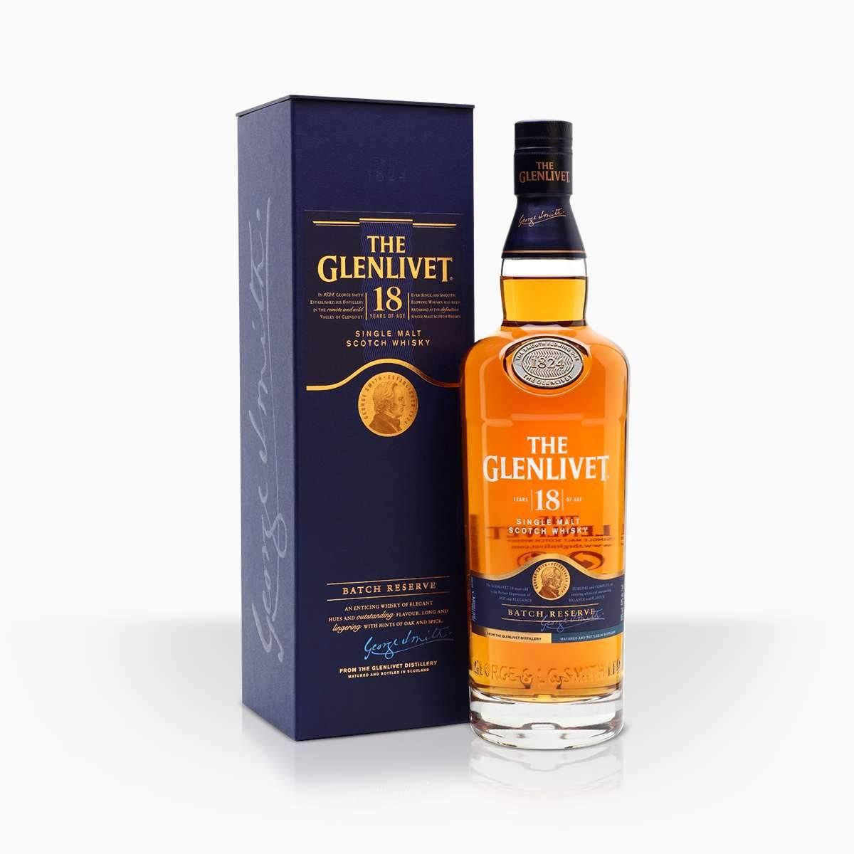Whisky Glenlivet 18YO 40% 0,7l