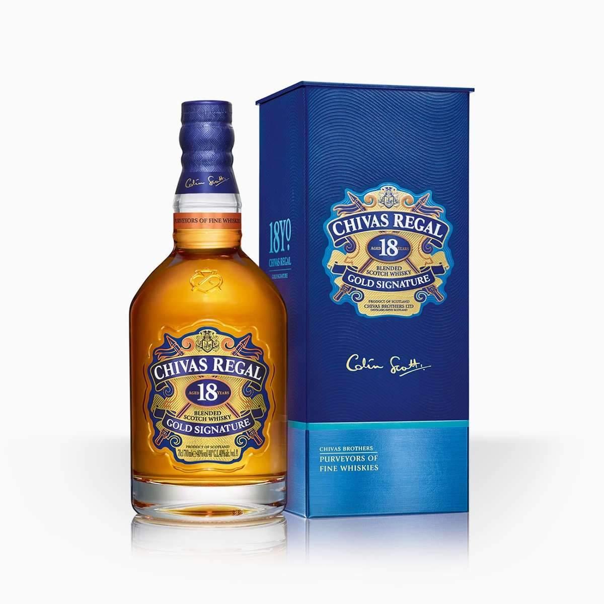 Whisky Chivas Regal 18YO 40% 0,7l