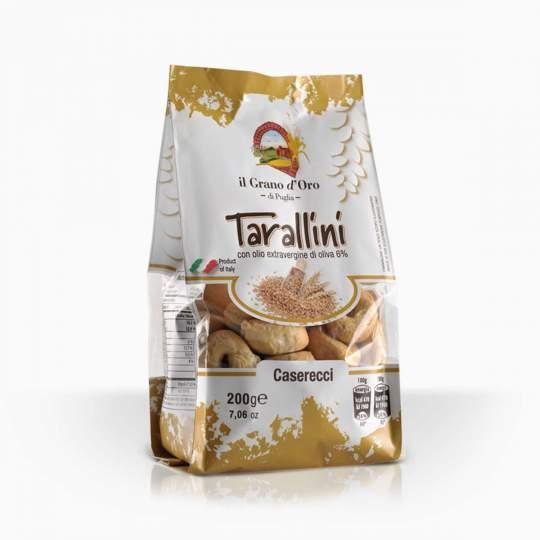 Il Grano d'Oro Tarallini Caserecci slané chrumkavé krekery 200g