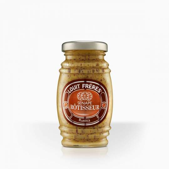 Louit Freres horčica Rustica s celými horčičnými semienkam 130g