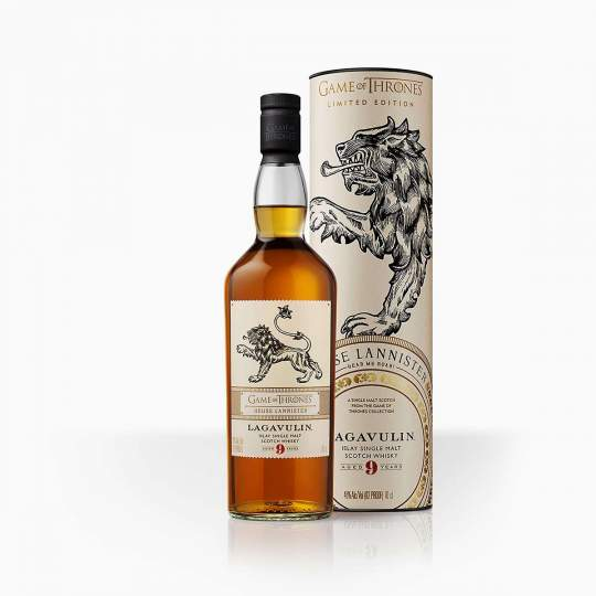 Whisky Lagavulin 9YO GoT Lannister 46% 0,7l