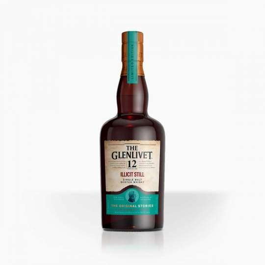 Whisky Glenlivet 12YO Illicit 48% 0,7l