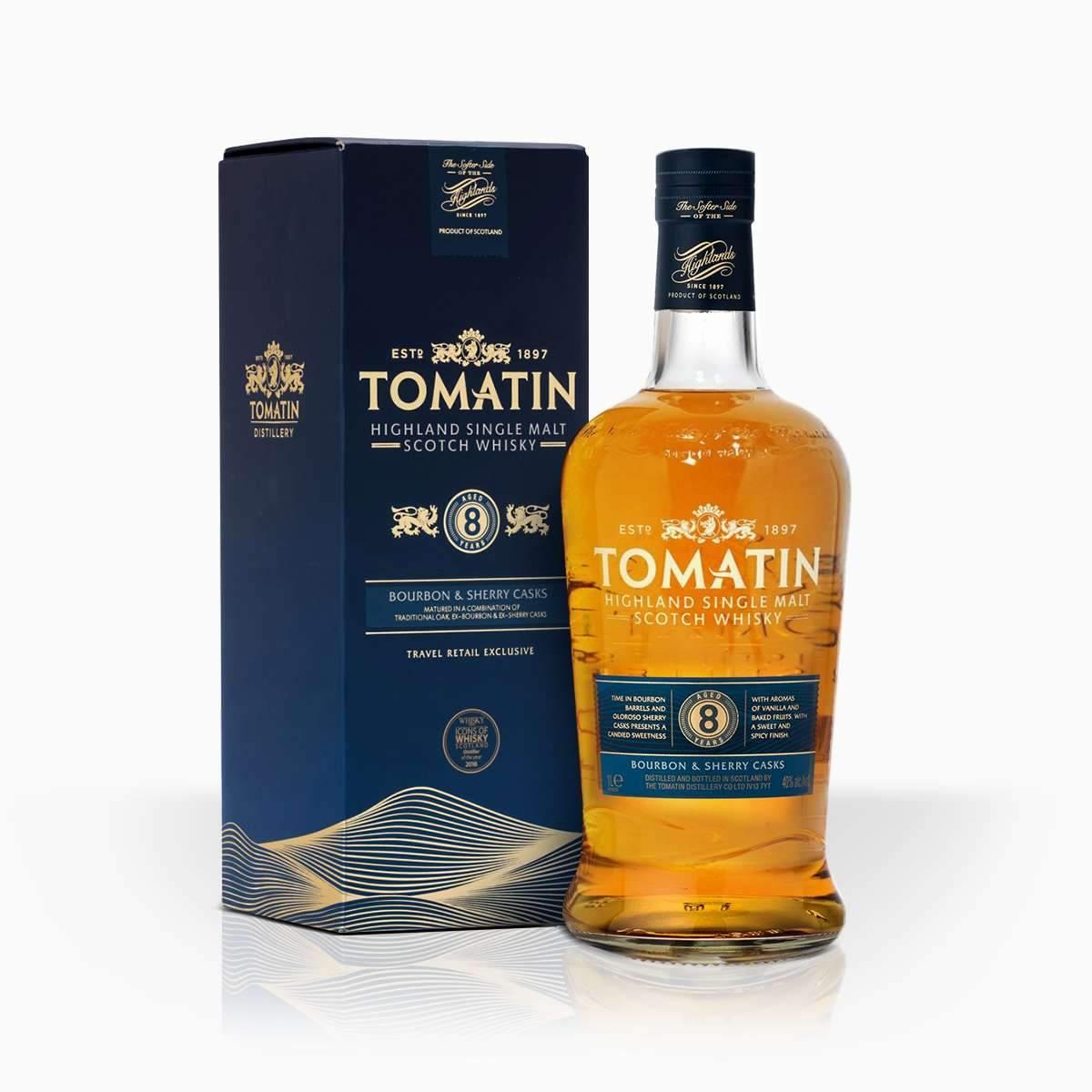 Whisky Tomatin 8YO 40% 1l