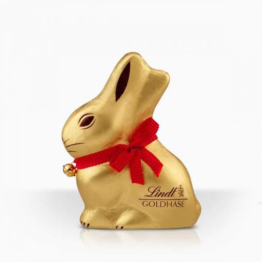 Lindt Gold Bunny dutá figúrka z mliečnej čokolády 100g