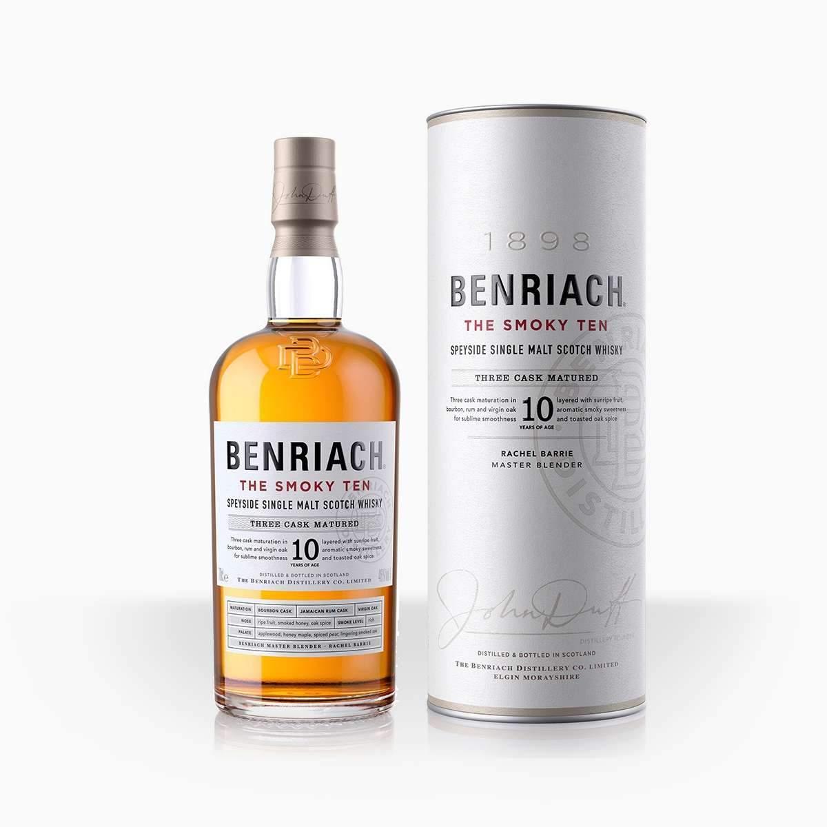 Benriach 10YO The Smoky Ten 46% 0,7l